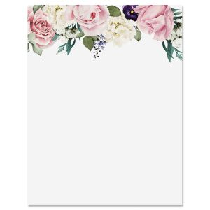 Victorian Rose Garden Letter Papers
