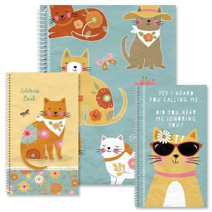 Cat Patch Organizer Books