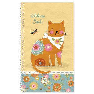 Cat Patch Lifetime Address Book