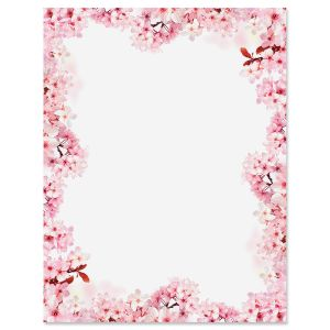 Spring Blossoms Letter Papers