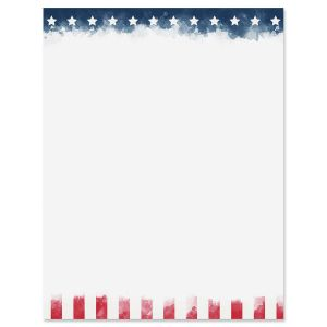 Old Glory Letter Papers