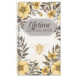 Sweet Bee Lifetime Address Book