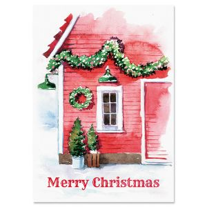 Country Peace Christmas Cards