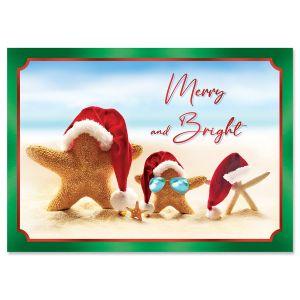Tropical Holidays Christmas Cards