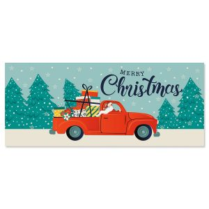 Christmas Delivery Slimline Holiday Cards