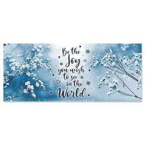 A Wish For Joy Slimline Holiday Cards