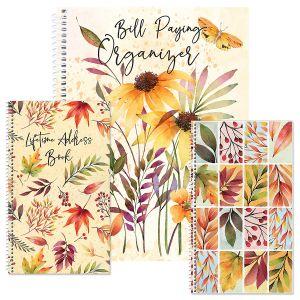 Autumn Flourish Organizer Books
