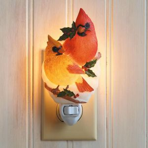 Cardinal Couple Night Light