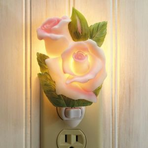 Rosebud Night Light