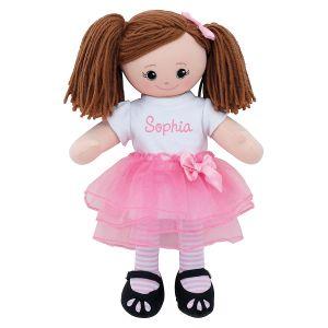 Brunette Ballerina Custom Doll