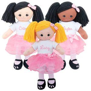 Custom Ballerina Rag Doll with Tutu