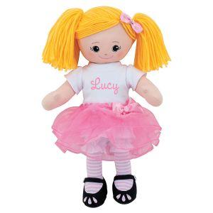 Blonde Ballerina Custom Doll