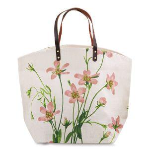 Salt Marsh Rose Garden Party Jute Bag