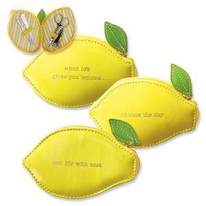Lemon Manicure Set