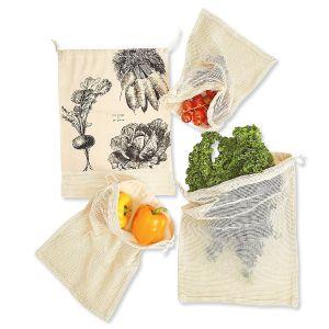 4 Reusable Produce Bags