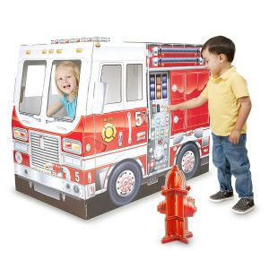 Indoor Fire Truck Playhouse by Melissa & Doug®