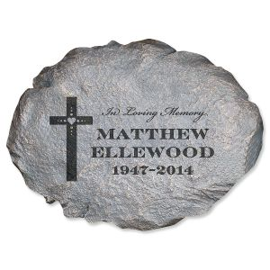 In Loving Memory Custom Garden Stone
