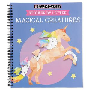 Magical Creatures Sticker by Letter Books