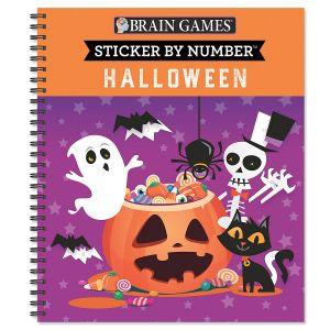 Brain Games® Halloween Sticker by Number
