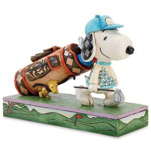 Snoopy™ & Woodstock Golfing by Jim Shore