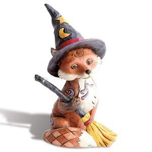 Mini Halloween Fox by Jim Shore