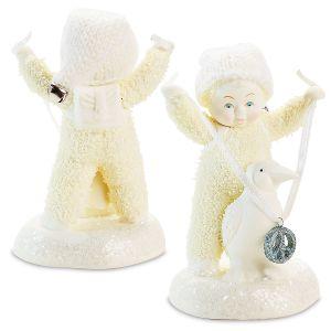 Snowbabies™ Peace Prize Figurine