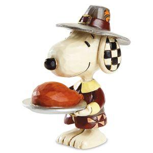 Jim Shore Mini Thanksgiving Snoopy™