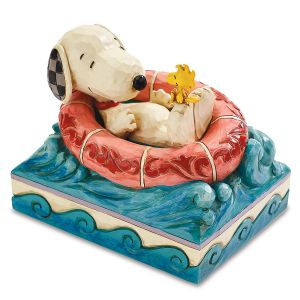 Snoopy™ & Woodstock™  In Floatie by Jim Shore