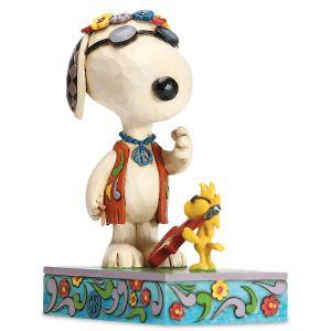 Snoopy & Woodstock Concert Figurine
