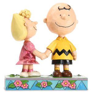 Jim Shore Charlie Brown & Sally Figurine