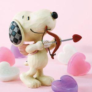 Mini Snoopy Love Figurine by Jim Shore