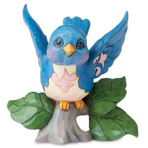 Jim Shore Mini Bluebird Figurine