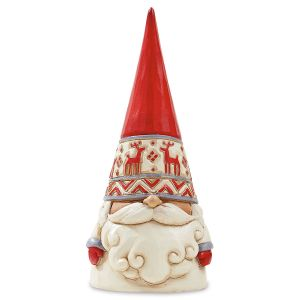 Gnome with Red Reindeer Hat by  Jim Shore
