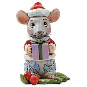 Mini Christmas Mouse by Jim Shore