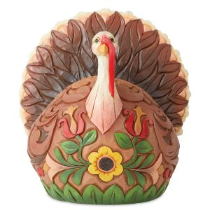 Small Turkey Fall Figurine by Jim Shore