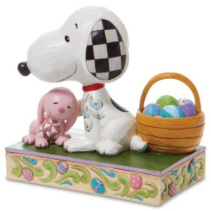 Jim Shore Peanuts Snoopy™ with Easter Basket