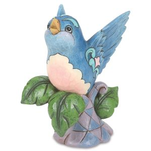 Jim Shore Bluebird on Branch  Figurine