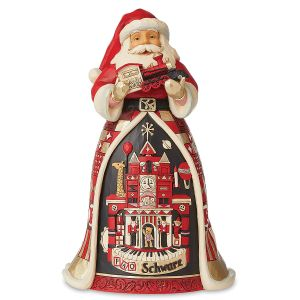 Jim Shore FAO Schwarz Santa with Toy Scene