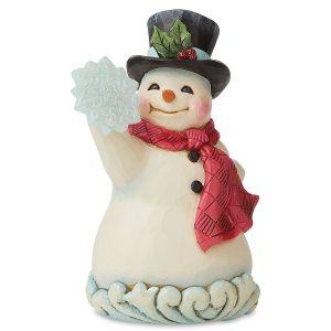 Jim Shore Wonderland Snowman with Snowflake