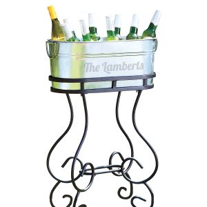 Custom Beverage Tub with Stand