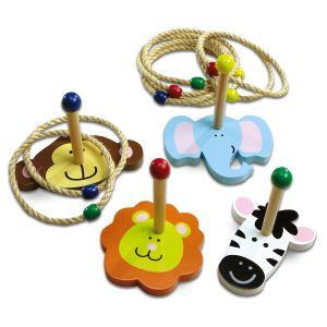 Zoo Animal Ring Toss Game