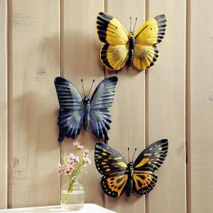 Butterfly Wall Plaques
