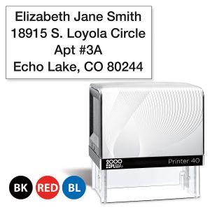 Custom Standard Self-Inking Address Stamp