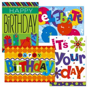 Bright & Bold Birthday Cards