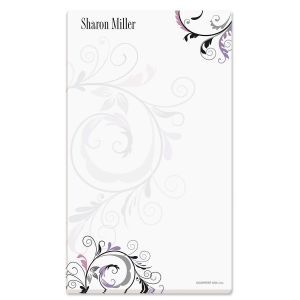 Black and Grey Fantasy Notepad