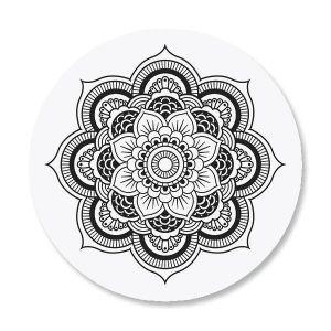 Mandala Envelope Seals