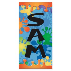Kids Name Personalized Banner