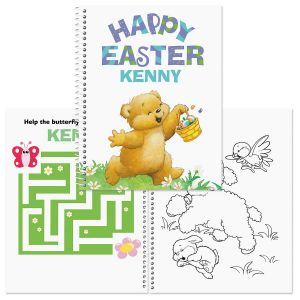 Custom Easter Coloring & Activity Book