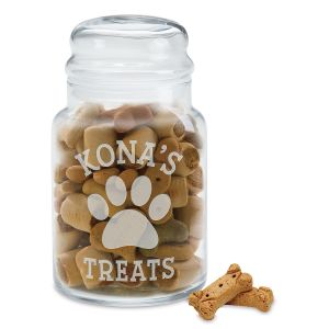 Treat Personalized Jar for Dog's