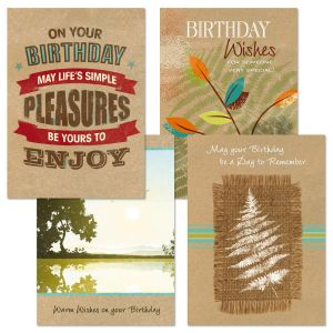 Masculine Tailored Birthday Cards